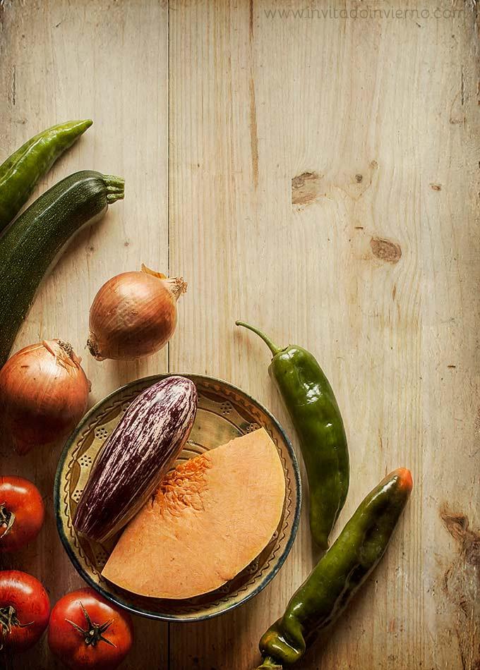 ingredientes del pisto andaluz