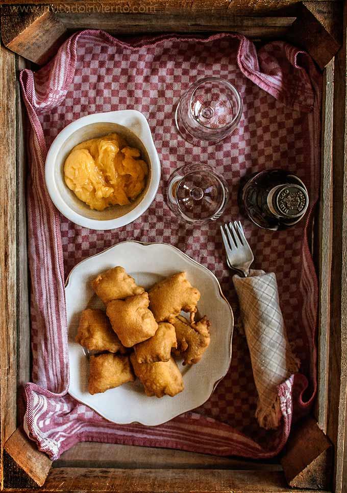 Buñuelos de bacalao con alioli | Recetas con fotos El invitado de invierno