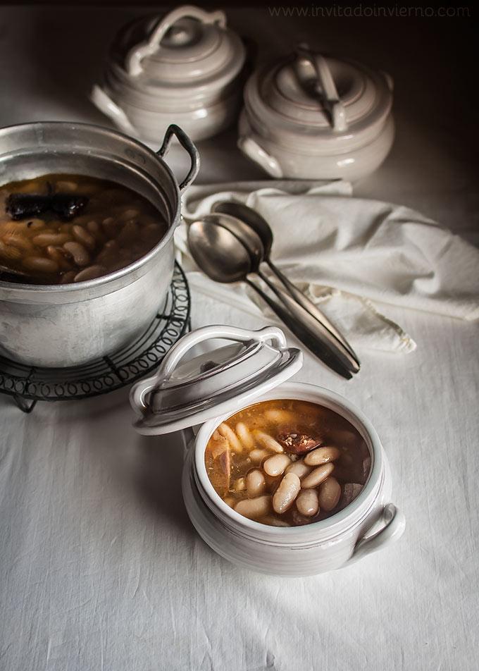 Fabada asturiana tradicional | Recetas con fotos El invitado de invierno