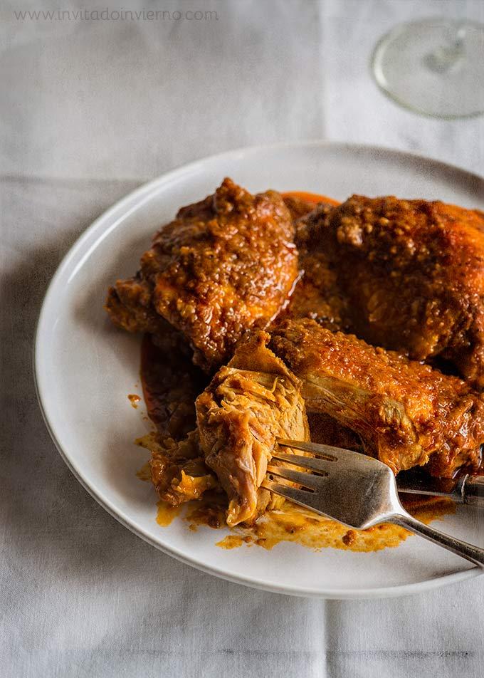 ajillo de pollo