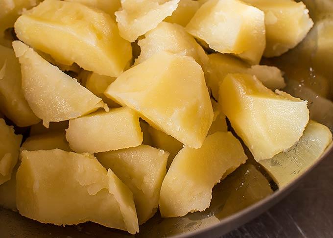 patatas alioli paso a paso
