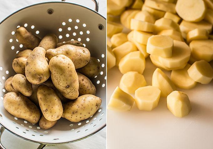 patatas guisadas con berberechos paso a paso