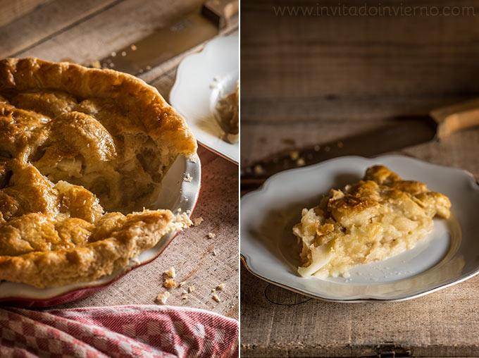 imagen de tarta de manzana americana apple pie