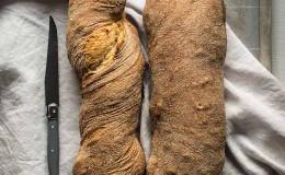 imagen de pan casero sin amasado