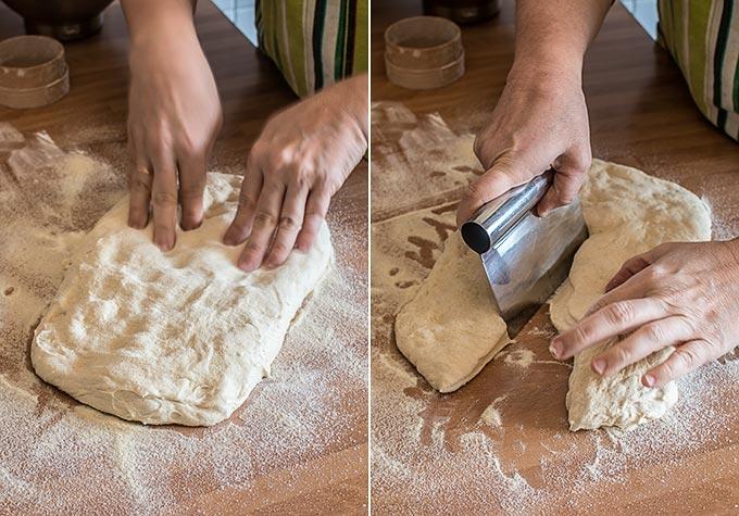 pan casero sin amasado paso a paso