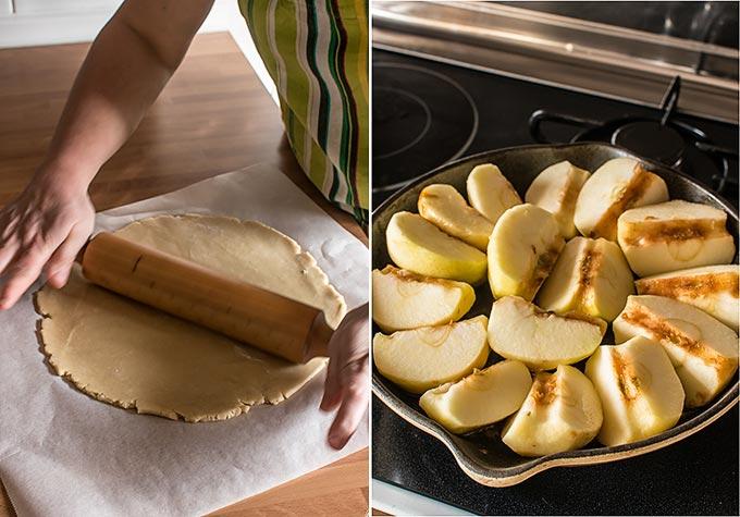 tarta tatin de manzana paso a paso