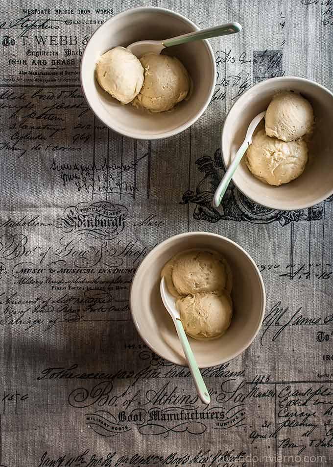 imagen de helado de mazapan