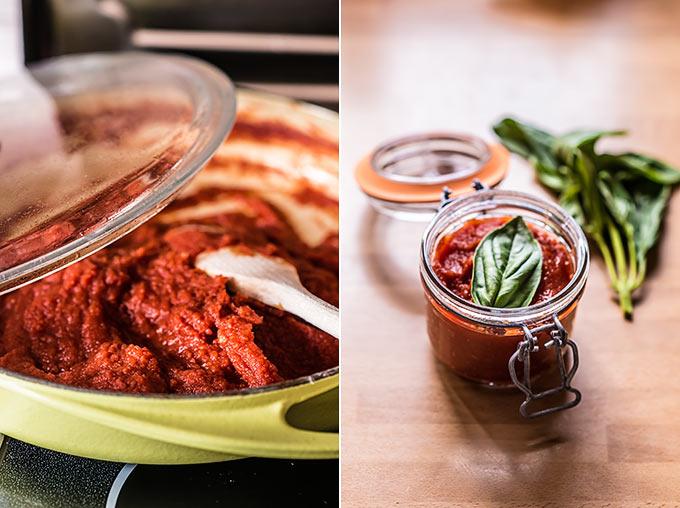 passata de tomate paso a paso