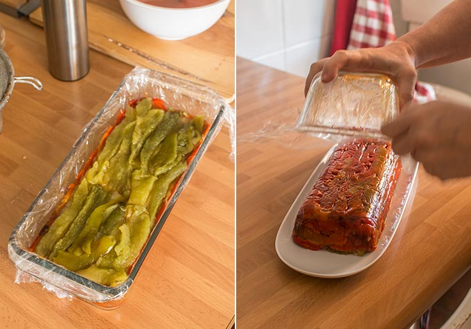 pastel de verduras paso a paso