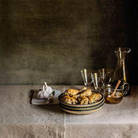 Pollo confitado al ajillo | Recetas con fotos El invitado de invierno