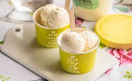 imagen de helado de creme fraiche