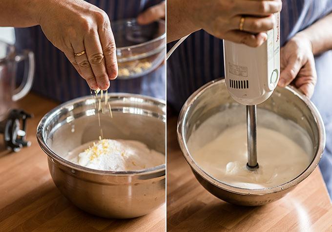 helado de creme fraiche paso a paso