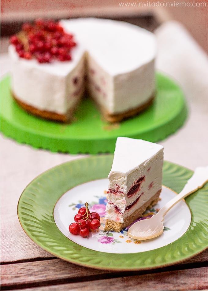 imagen de tarta helada mascarpone