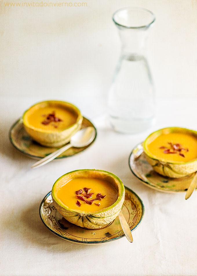 receta de gazpacho de melon