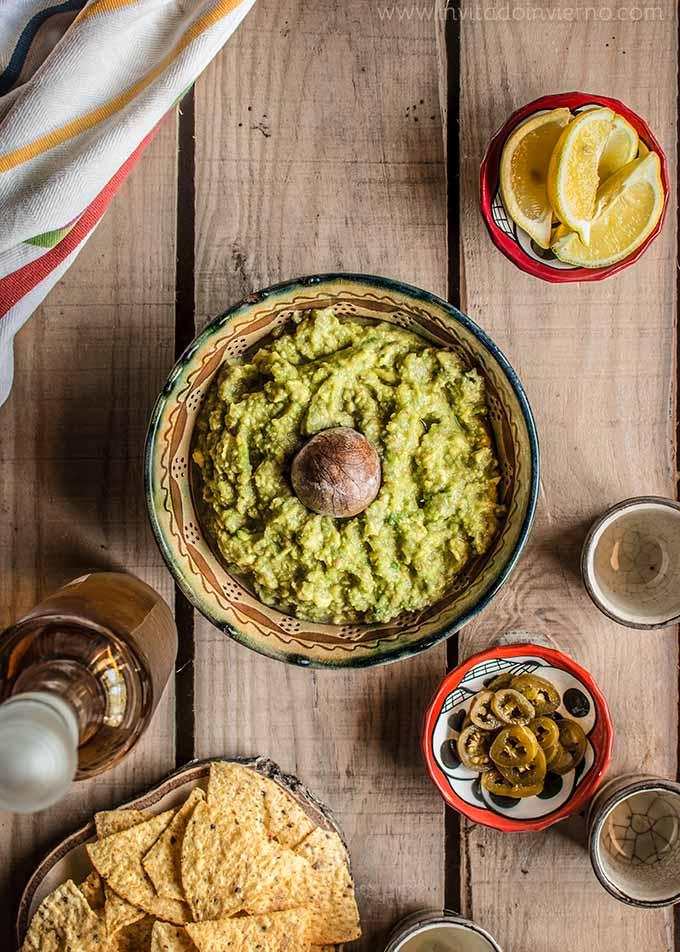 imagen de guacamole casero
