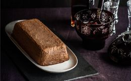 imagen de semifrio de chocolate nutella