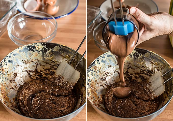 semifrio de chocolate nutella paso a paso