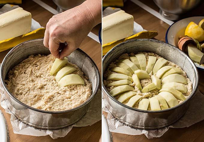 bizcocho de manzana facil paso a paso