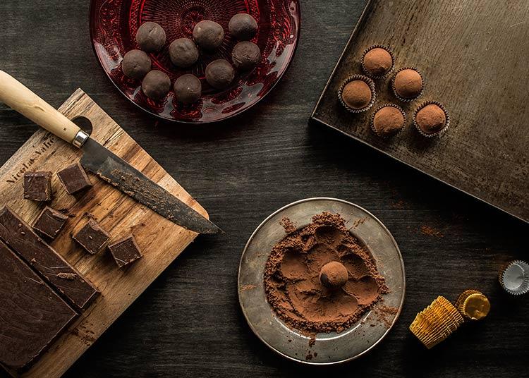 ganache chocolate by Miriam Garcia