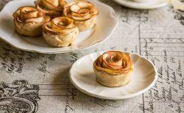 imagen de rosas de manzana