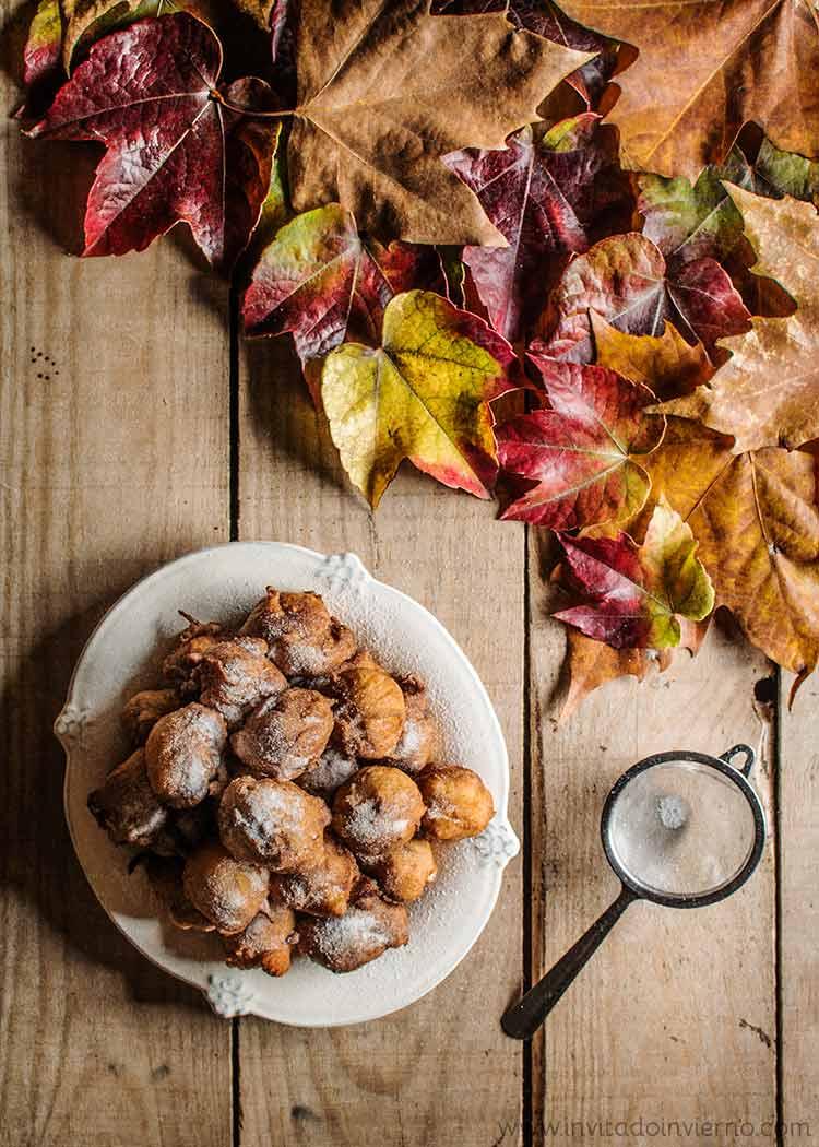 bunuelos de manzana by Miriam Garcia