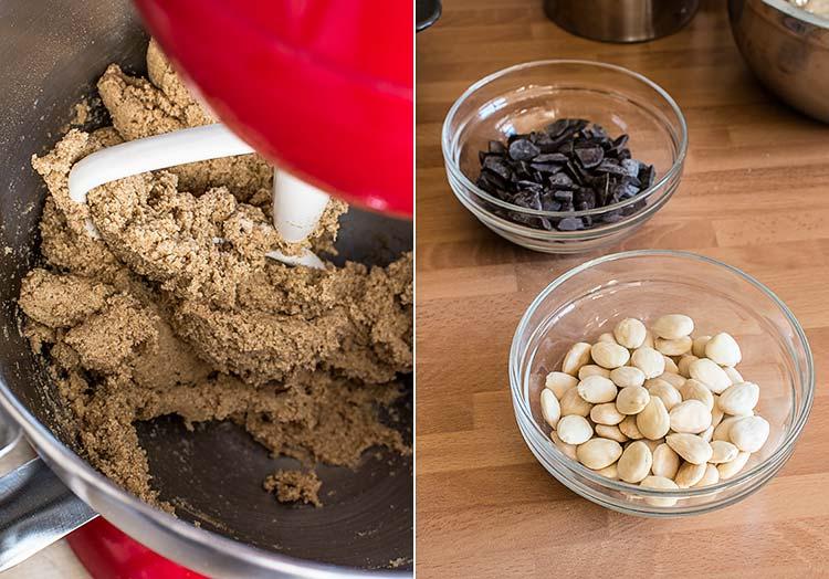 galletas de chocolate castanas paso a paso