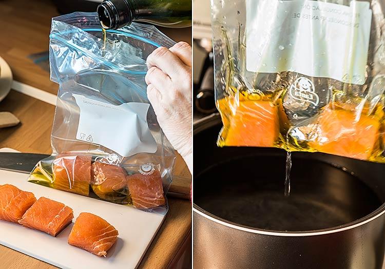 salmon baja temperatura sous vide paso a paso