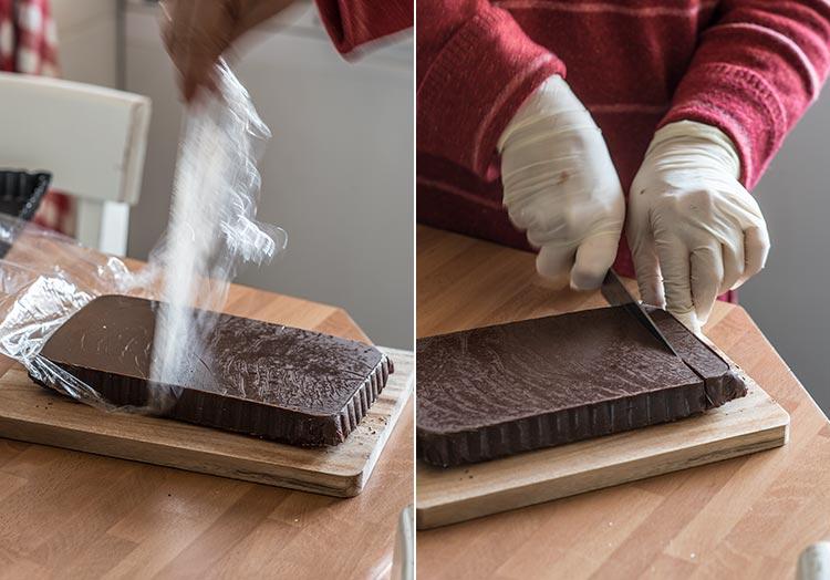 trufas de chocolate castanas paso a paso