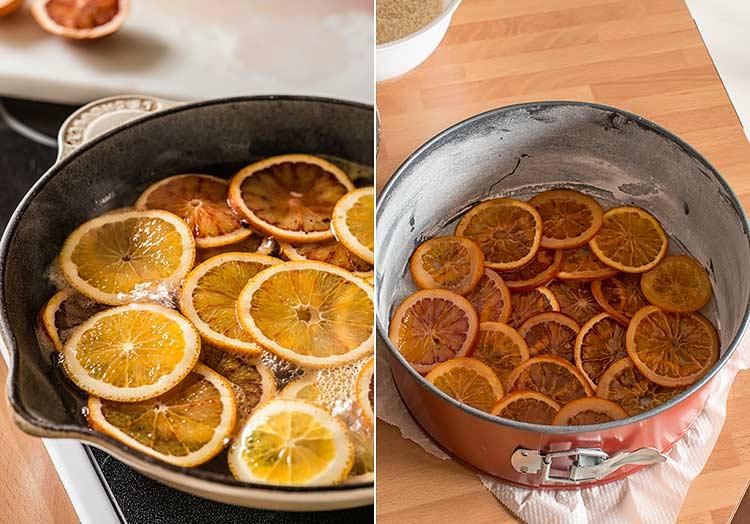 bizcocho de naranja paso a paso