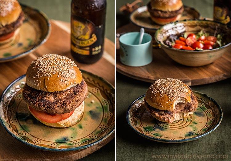 hamburguesas de legumbres by Miriam Garcia