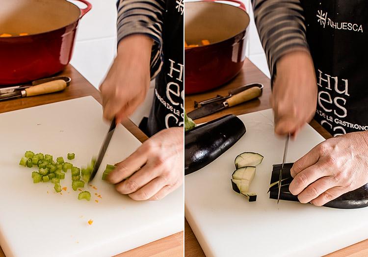 sopa minestrone paso a paso