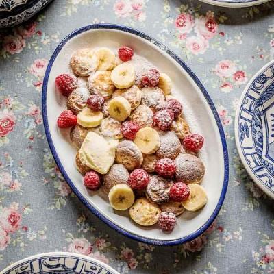 Tortitas con frutas