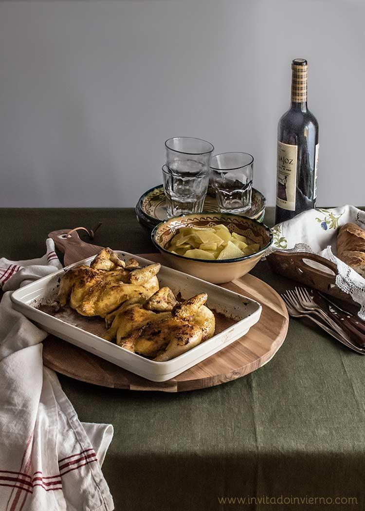 pollos picantones en ajillo by Miriam Garcia