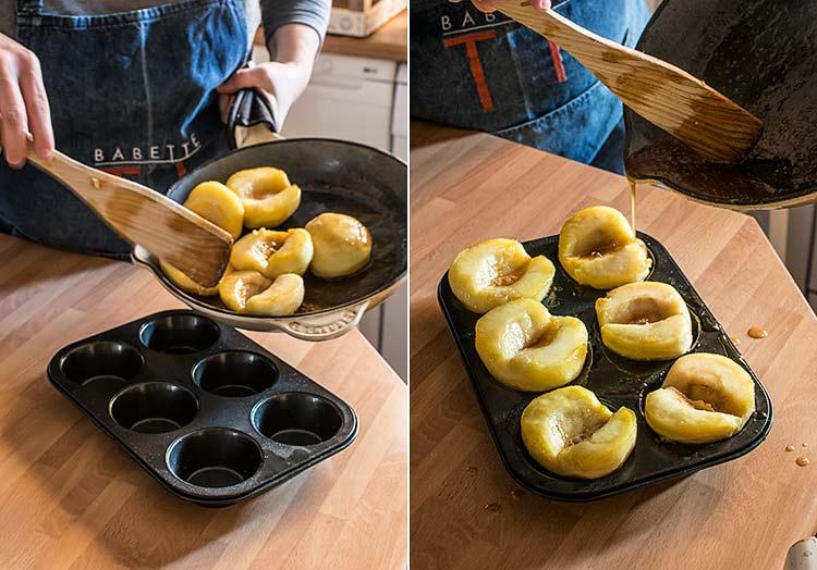tartaletas tatin de manzana paso a paso