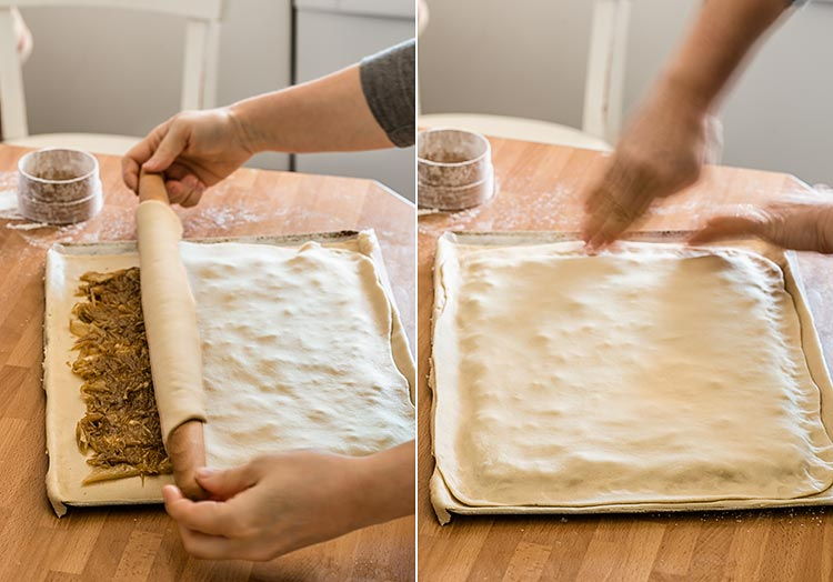empanada gallega cebolla paso a paso