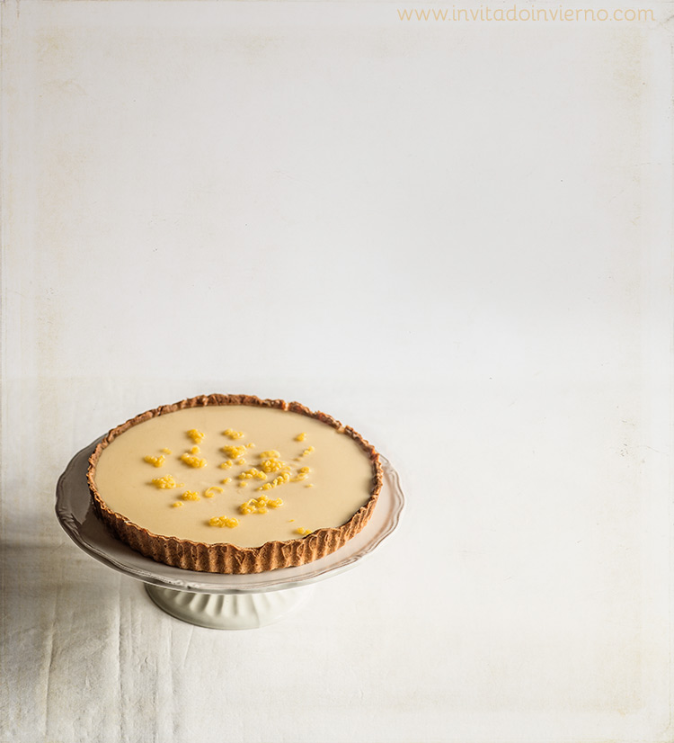 tarta de limon francesa