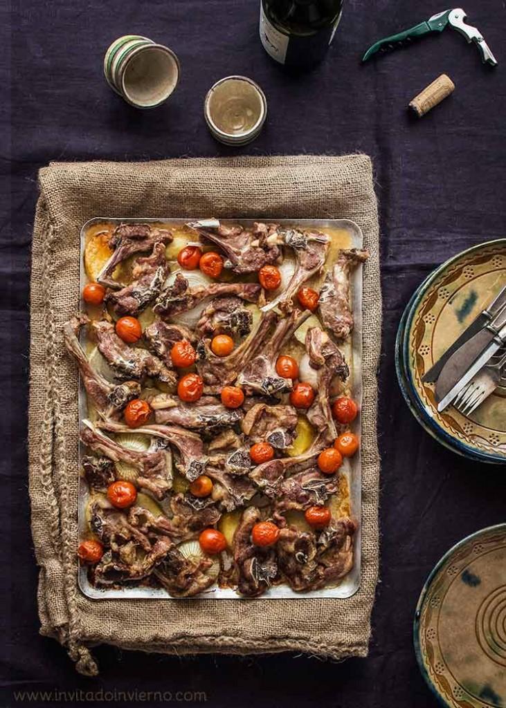 Chuletas de cordero al horno | Recetas con fotos El