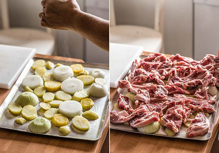 Chuletas de cordero al horno recetas con fotos el invitado de invierno - Chuletas de cordero al horno con patatas ...