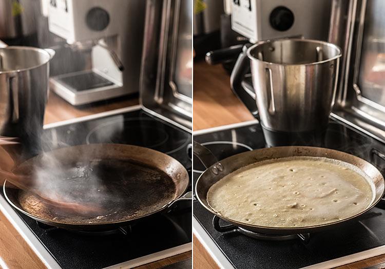 crepes suzette paso a paso