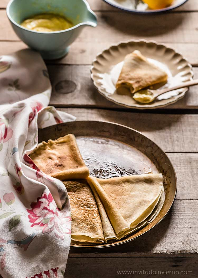 crepes suzette by Miriam Garcia