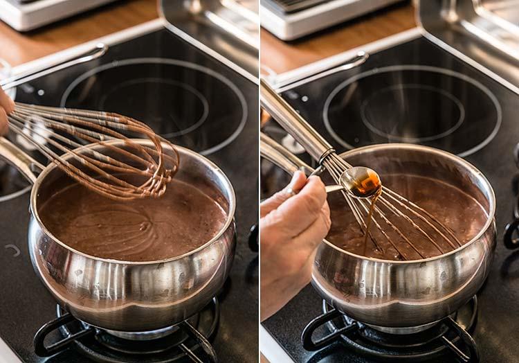 helados sin huevo chocolate
