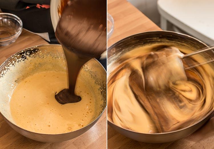 souffle helado chocolate