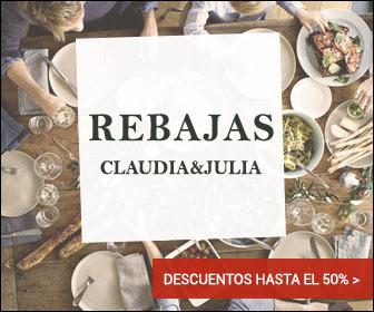 rebajas en Claudia&Julia