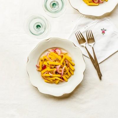 Ensalada de mango picante