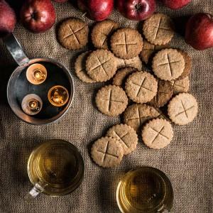 Soul cakes, galletas de Halloween