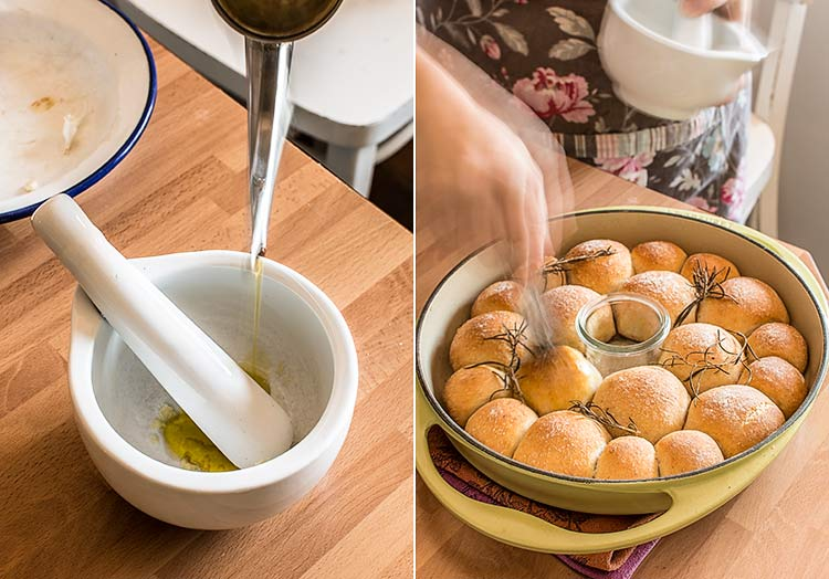 panecillos aceite oliva
