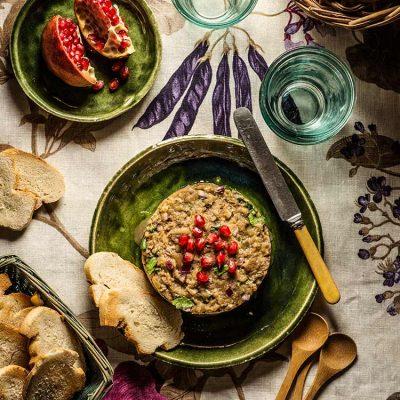 Caviar de berenjenas a la georgiana