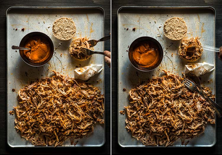 receta pulled pork