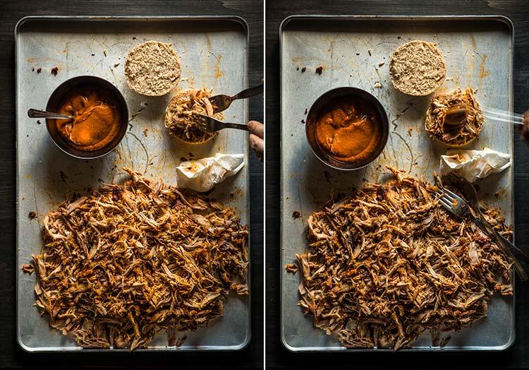 receta pulled pork