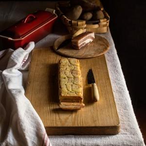Terrina de patata y panceta